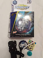 Бейблэйд beyblade Леопард Random  Booster  в комплекте ручка- кинжал