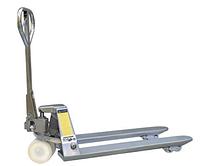 Гидравлические тележки из оцинкованной стали для паллет Skiper SKG251150, г/п 2500 кг, вилы 1150/550