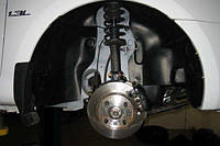 Подкрылок передний левый для Lifan 320 '11- (Novline)