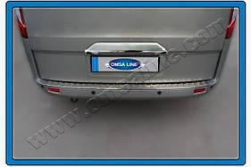 Хром планка над номером (без камеры, нерж.) - Ford Custom 2013+ гг.