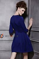 Платье женское короткое Синий