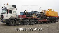 Негабаритные перевозки Запорожье. Перевозка негабаритных грузов тралом.