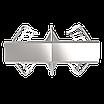 Полноростовой двухпроходной турникет ZKTeco FHT2300D, фото 2