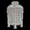 Полноростовой двухпроходной турникет ZKTeco FHT2300D, фото 4
