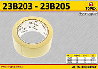 Лента малярная бумажная W-30мм,  TOPEX  23B203