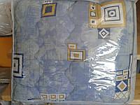 Одеяло стеганное полушерсть евроразмер  Vlady