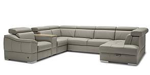 Угловой кожаный диван Urbano 346х79х261