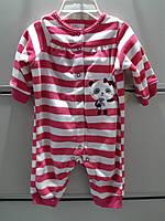 Слипер Флисовый LITTLE WONDERS Человечек  Пижама детская