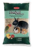 PADOVAN Sanipet profumato 4 л - Гигиенический наполнитель для клеток из кукурузных гранул