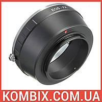Переходник Canon EF – Fujifilm X-mount