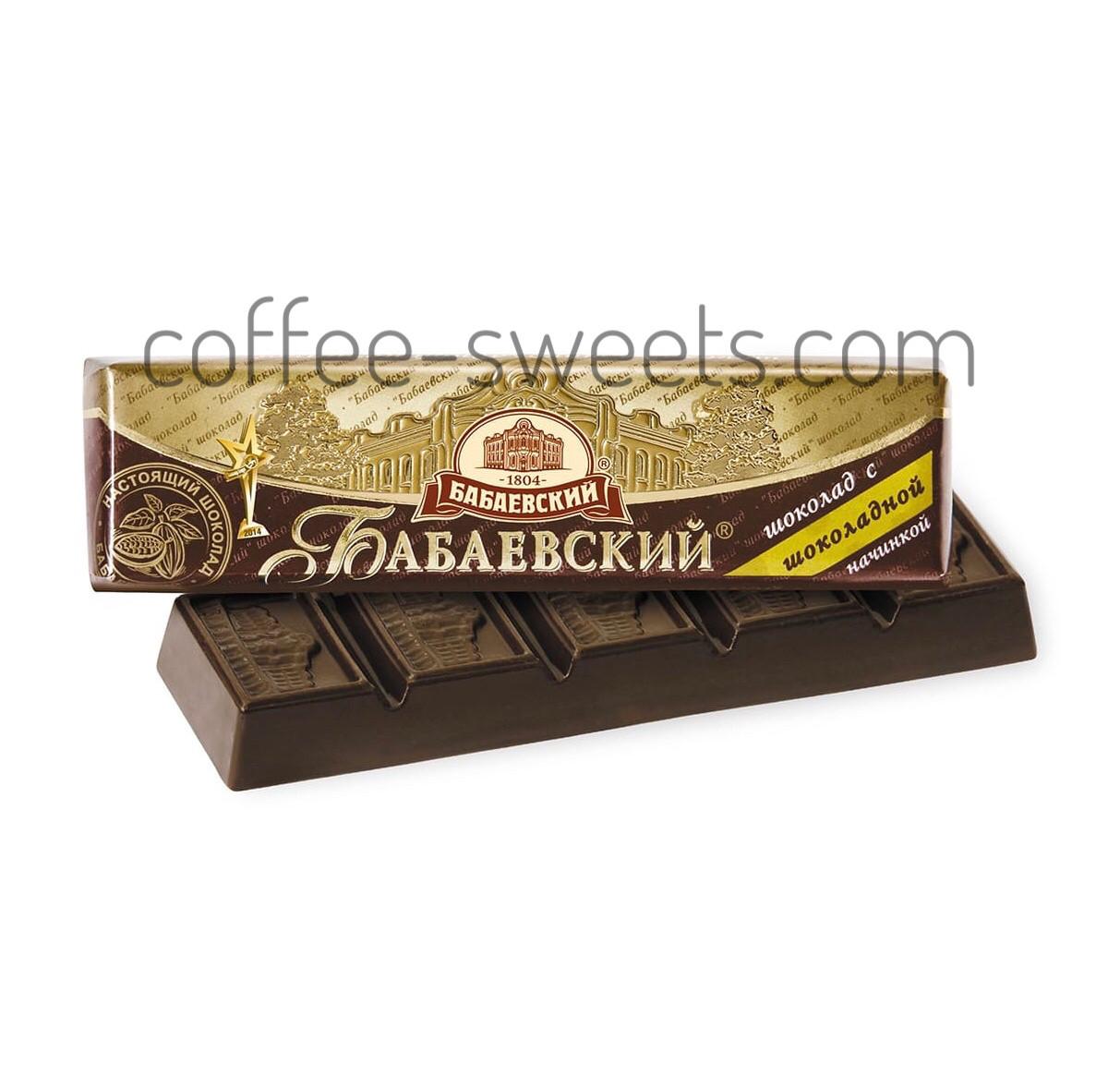 Батончик с шоколадной начинкой Бабаевский 50гр