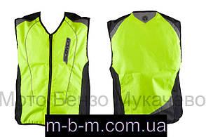 Захист жилет , розмір  XL, світло відображаючий  SCOYCO