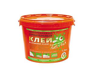 """Клей акриловый LACRYSIL """"СУМАСШЕДШАЯ ЛИПУЧКА"""" монтажный, 1,2 кг"""