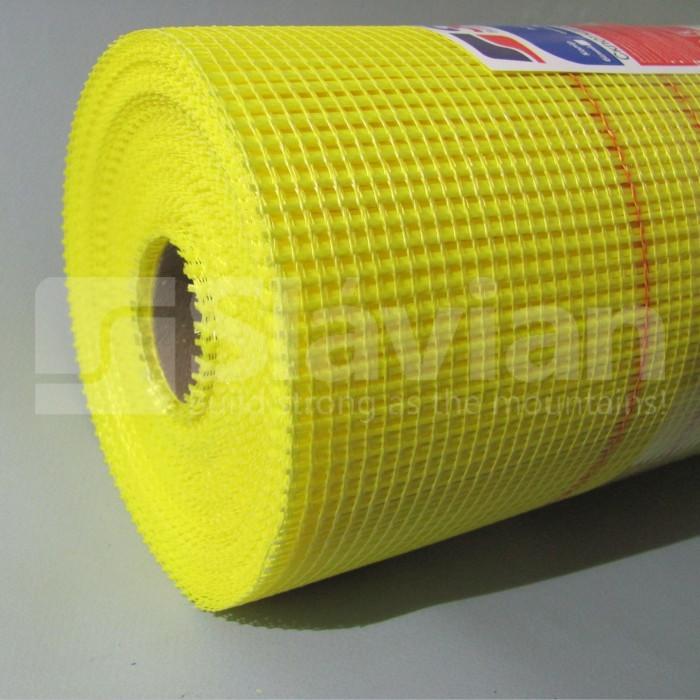 Стекловолоконная сетка «SLAVIAN» EU 145гр/м2 5*4 50m (Yellow)