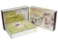 Набор махровых полотенец Cestepe Bamboo 50х90 + 70х140 см салатовый (2 предмета)