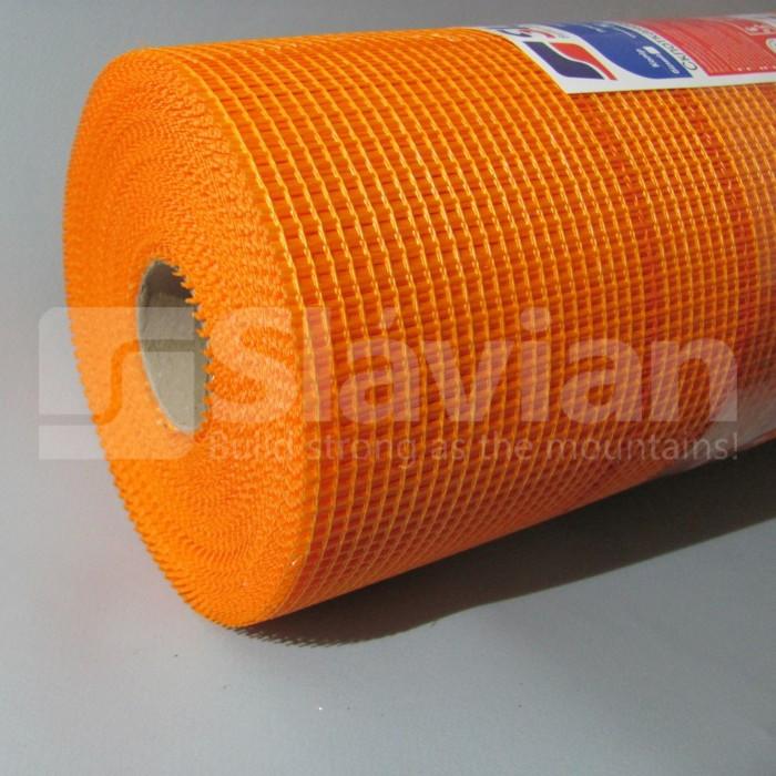 Стекловолоконная сетка «SLAVIAN» EU 145гр/м2 5*4 50m(Orange)