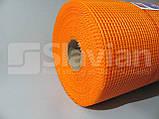 Скловолоконна сітка «SLAVIAN» EU 145гр/м2 5*4 50m(Orange), фото 3