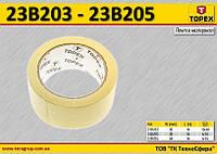 Лента малярная бумажная W-38мм,  TOPEX  23B205