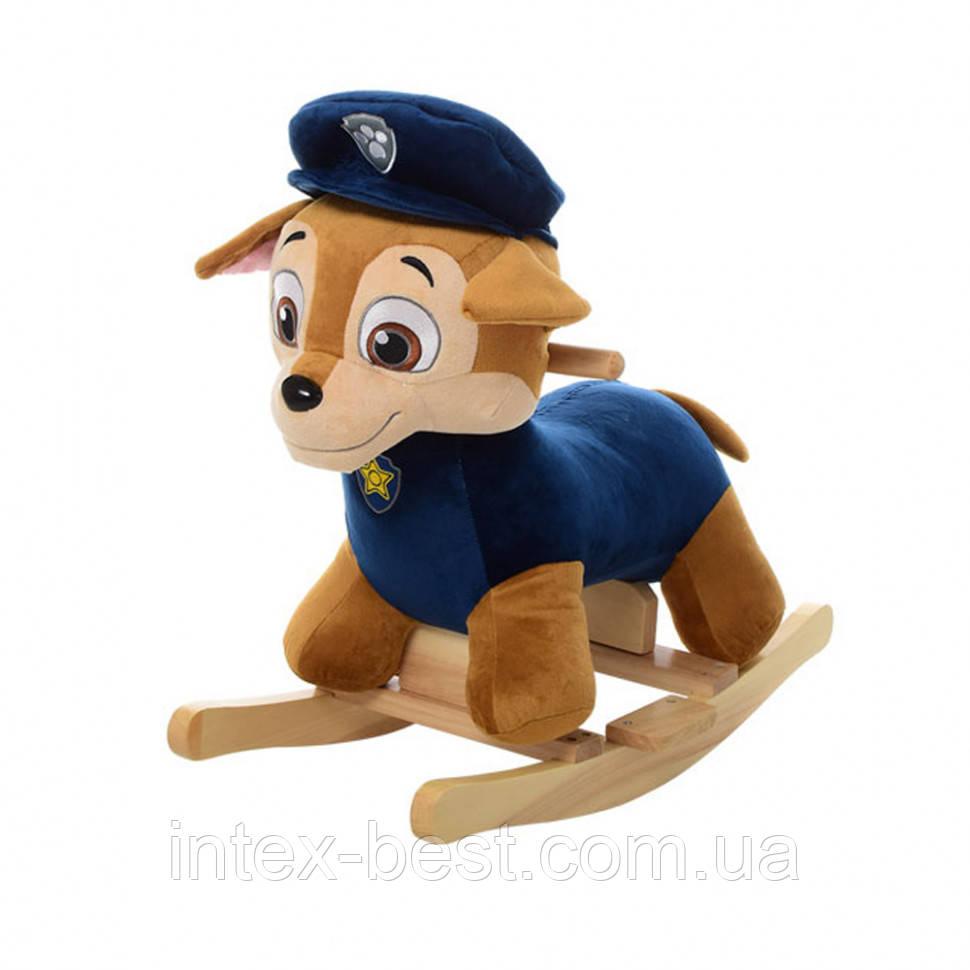 Качалка щенячий патруль MP 0084B (синий)