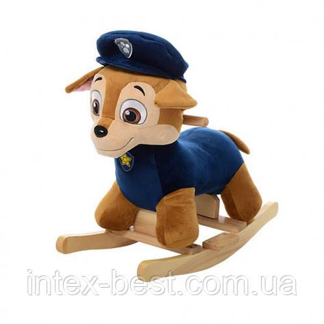 Качалка щенячий патруль MP 0084B (синий), фото 2