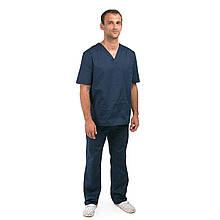 Медицинский костюм Гранит синий 44-56