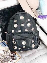 Сумка рюкзак черный №337