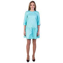 Медицинское платье Сантини мята