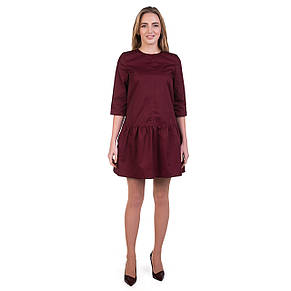 Медичне плаття Сантіні марсала розмір 42, фото 2