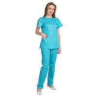 Медицинский женский костюм Жасмин тиффани, 48 размер