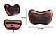 Автомобильная массажная подушка с прогревом и роликами Магия CHM-8028, фото 8