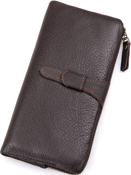 e62d5aba169e Кошелек кожаный Коричневый Vintage 14599 Натуральная кожа - Онлайн -  супермаркет ◅GOOD MARKET▻ в