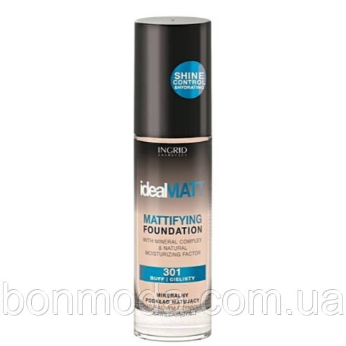 Тональный крем Ideal Matt Mattifying Foundation Ingrid Cosmetics