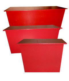 Ящик для песка стационарный 0,13 куба, фото 2