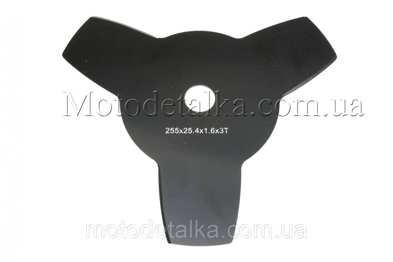 Нож мотокосы 3T (Ø255/25.4 mm)