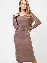 Женское платье из ангоры с поясом (Карина leо), фото 3