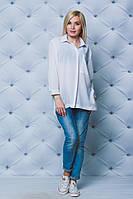 Блуза женская оверсайз белая
