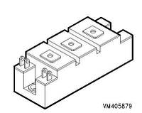 Транзисторный IGBT модуль BSM50GB120DLC
