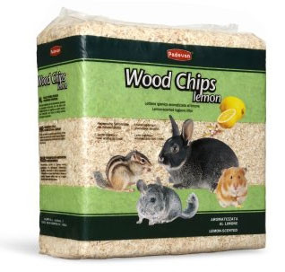 PADOVAN Wood chips lemon - Гигиенический наполнитель