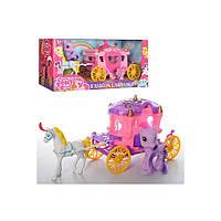 Игровой набор Карета My Little Pony DN833-834