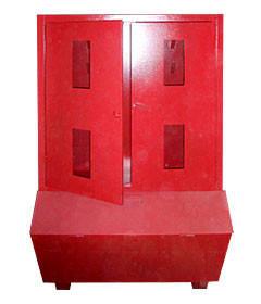 Стенд пожарный закрытого типа с ящиком для песка, фото 2