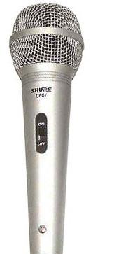 Микрофон Shure C607N