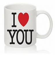 Кофейные чашки I Love you 6 шт
