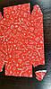 Коробочка для сладостей, 230*150*60 красная с дефектом