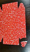 Коробочка для сладостей, 230*150*60 красная с дефектом, фото 1