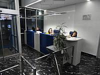Стойка ресепшн. Офисная мебель для персонала на ресепшн (R-5)
