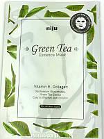 Маска-салфетка для лица KONAD Green Tea Essence Mask, 17 ml