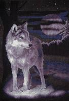 Набор для вышивки крестом Panna Ж-0462 Белый волк