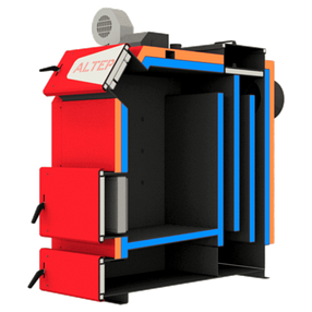 Твердотопливный котел Альтеп TRIO UNI 14 квт (KT-3EN) с механическим регулятором тяги, фото 2