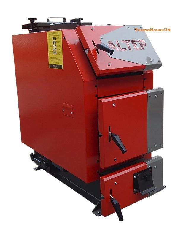 Твердотопливный котел Альтеп TRIO UNI 14 квт (KT-3EN) с механическим регулятором тяги