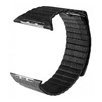Ремінь для Apple Watch Leather Loop 38mm/40mm Black
